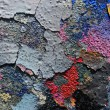 Graffiti wall details close-up — Foto Stock