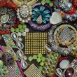 Various jewellery fashion accessories - Stock Photo