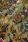 Various jewellery fashion accessories — Zdjęcie stockowe