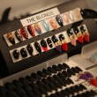 Stock Photo: NEW YORK- SEPTEMBER 11: Creative nails ready backstage at Blonds Collection for Spring/ Summer 2013
