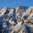 Spectacular view to the Mountains from Snowbird ski resort in Utah, USA — Stockfoto