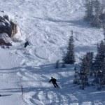 Kış saati alta ski Resort, utah — Stok fotoğraf