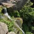 Waterfalls on Kaaterskill Creek in the Catskills Mountains - New York - Stock Photo