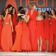 Stock Photo: NEW YORK - FEBRUARY 06:Wendy Williams, Cindy Parsons, JilliMichaels, Kylie Jenner,Toni Braxton, Kelly Osbourne,Torah Bright, Roselyn Sanchez and others at Heart Truth's Red Dress Event