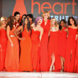 NEW YORK - FEBRUARY 06:Wendy Williams, Cindy Parsons, Jillian Michaels, Kylie Jenner,Toni Braxton, Kelly Osbourne,Torah Bright, Roselyn Sanchez and others at The Heart Truth's Red Dress Event — Stock Photo