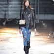 NEW YORK, NY - FEBRUARY 11: A model walks the runway at the 3.1 Phillip Lim fall 2013 fashion show during Mercedes-Benz Fashion Week on February 11, 2013 in New York City. - Stock fotografie