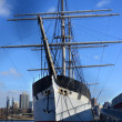 The Clipper Ship at South Street Seaport, NYC - Stock Photo
