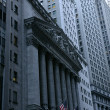 NEW YORK CITY - March 03: The New York Stock Exchange at 11 Wall Street is the largest stock exchange in the world by market capitalization March 03, 2013 in New York, NY. - ストック写真