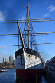 The Clipper Ship at South Street Seaport, NYC — Stock Photo