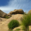 Landscapes vews of Stony Point park, Topanga Canyon Blvd, Chatsworth, CA — Stock Photo