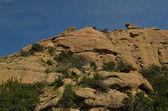 Landscapes vews of Stony Point park, Topanga Canyon Blvd, Chatsworth, CA — Stock Photo