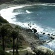 Panorama of CA coastline at Rancho Palos Verdes — Stock Video