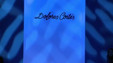 MIAMI - JULY 20: Model walks runway at the Dolores Cortez Collection for Spring Summer 2013 — Stock Video