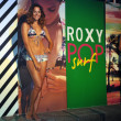 Models pose at Roxy Presentation during Mercedes-Benz Fashion Week — Stock Photo #28510569