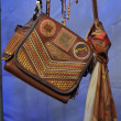 Design bags and accessories backstage at the Agua Bendita Collection — Zdjęcie stockowe
