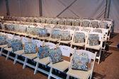 Satır ve hediye çantaları agua bendita koleksiyonu için ilkbahar - yaz 2014 itibariyle genel görünümü — Stok fotoğraf