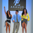 Stock Photo: Designer A.Z. Araujo with models on runway during Mercedes-Benz Fashion Week