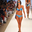 Model walks runway at A.Che Swimwear show — Stock Photo #30174817