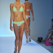 Stock Photo: Model walks runway at Poco Pano Collection