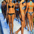 Stock Photo: Models walks runway finale at Poco Pano Collection