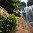Waterfalls at Catskils mountains upstate NY at the summer time — Stock Photo