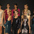 Models attend the Pamela Gonzales presentation  — Stock fotografie