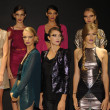 Models attend the Pamela Gonzales presentation — 图库照片 #31010603