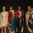 Models attend the Pamela Gonzales presentation — Zdjęcie stockowe #31010761