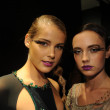 Models attend the Pamela Gonzales presentation  — Stockfoto