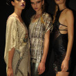 Models attend the Pamela Gonzales presentation — Zdjęcie stockowe #31011741