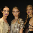 Models attend the Pamela Gonzales presentation — Zdjęcie stockowe #31011745