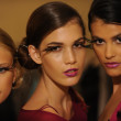 Models attend the Pamela Gonzales presentation — ストック写真 #31012115