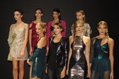 Models attend the Pamela Gonzales presentation — Foto de Stock
