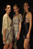 Models attend the Pamela Gonzales presentation — 图库照片
