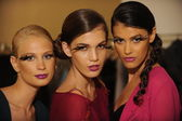 Models attend the Pamela Gonzales presentation — Стоковое фото