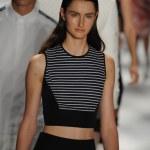 Models walk the runway finale at the Richard Chai — Stock Photo #31030149