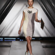 Model walks the runway at the Titania Inglis presentation — Foto Stock