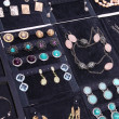 Fashion jewelry backstage — Stockfoto