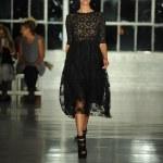 Model walks the runway at the K. Nicole fashion show — Stock Photo
