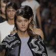Models walk the runway finale at Phillip Lim show — Stock Photo