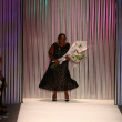 Stock Photo: Designer Tracy Reese takes bow
