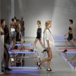Stock Photo: Models walk runway at Rodarte show