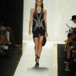 Model at Herve Leger by Max Azria fashion show — Stock Photo