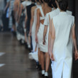 Models at Yigal Azrouel fashion show — Stock Photo