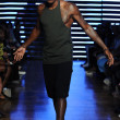 Stock Photo: Model at Telfar fashion show