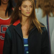 Model at Tommy Hilfiger Women's fashion show — Stock Photo