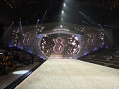 Stage runway Victoria's Secret Fashion Show — Stock Photo