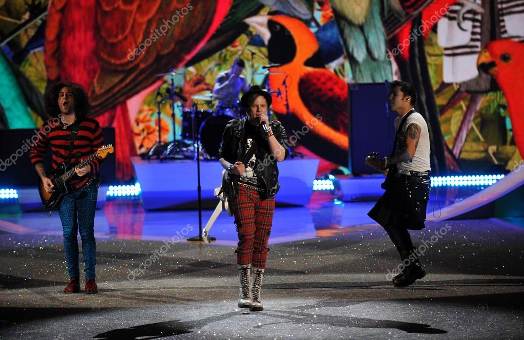 Fall Out Boy Victoria's Secret Fashion Show Fall Out Boy performs at