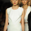 Models walk runway finale at Rachel Zoe show — Stock Photo #36438925