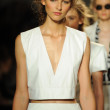 Models walk runway finale at Rachel Zoe show — Stock Photo #36438941